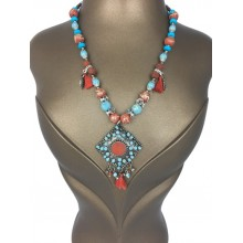Bead Bohemian Necklace