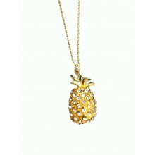 Crystal pineapple necklaces