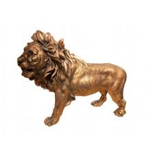 Cast Mold Lion Figure