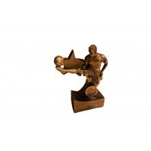 Cast mold Soccer Ball Figure