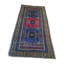 handmade-special-design-vintage-carpet 137in x 67in (346x172cm)