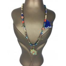 Boned Bohemian Necklace