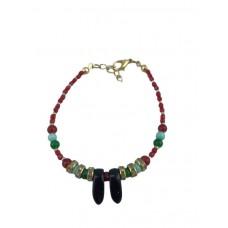 Bracelet with cyrıstal stone