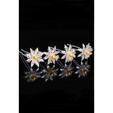 6 Pieces Hairpin Bridal Wedding Engagement Hair Accessories (Birthday-Valentine's Day-Mother's Day)