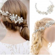 Floral Bridal Wedding Engagement Henna Hair Accessory (Birthday-Valentine's Day-Mother's Day)