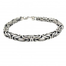 Round 925 Sterling Silver Male King Imprint (Birthday-Valentine-Graduation-Father's Day) Gift