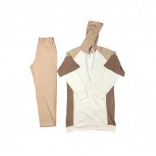 Women Brown Double Suit