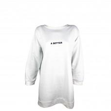 Women's White Sweatshirt
