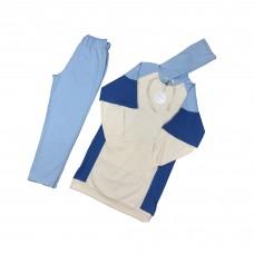 Women's Blue Double Suit