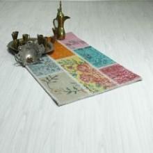 El Dokuma Özel Tasarım Vintage Halı Paspas