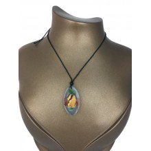 Living epoxy necklace
