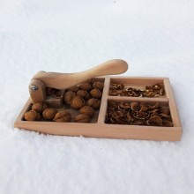 Wooden Handmade Walnut Crusher