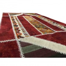 handmade specialdesign vintage rug 81inx46in (207x118cm)