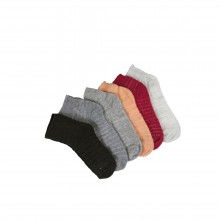Women Towel Socks Colorful 6-Piece Set