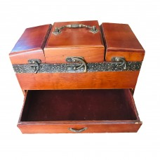 Home Decor Authentic Jewelry Chest (18cm x 15cm)