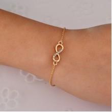 Lucky bracelet chain bracelet female character simple jewelry bracelet
